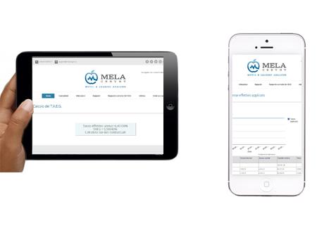 MelaCesynt anche su Tablet & Mobile