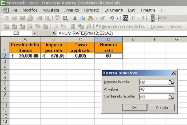Piano di Ammortamento in Excel