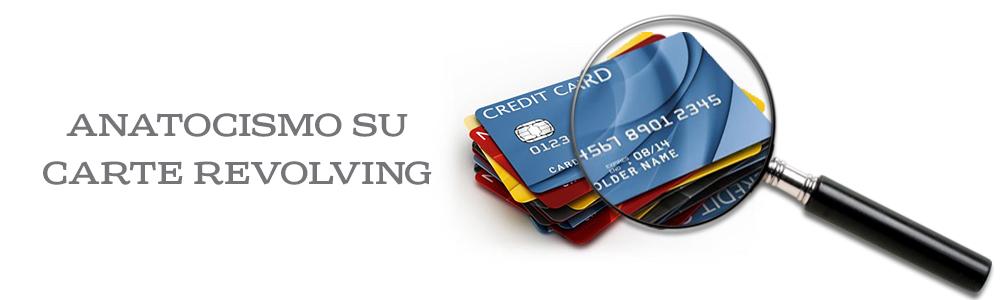 anatocismo carte di credito revolving